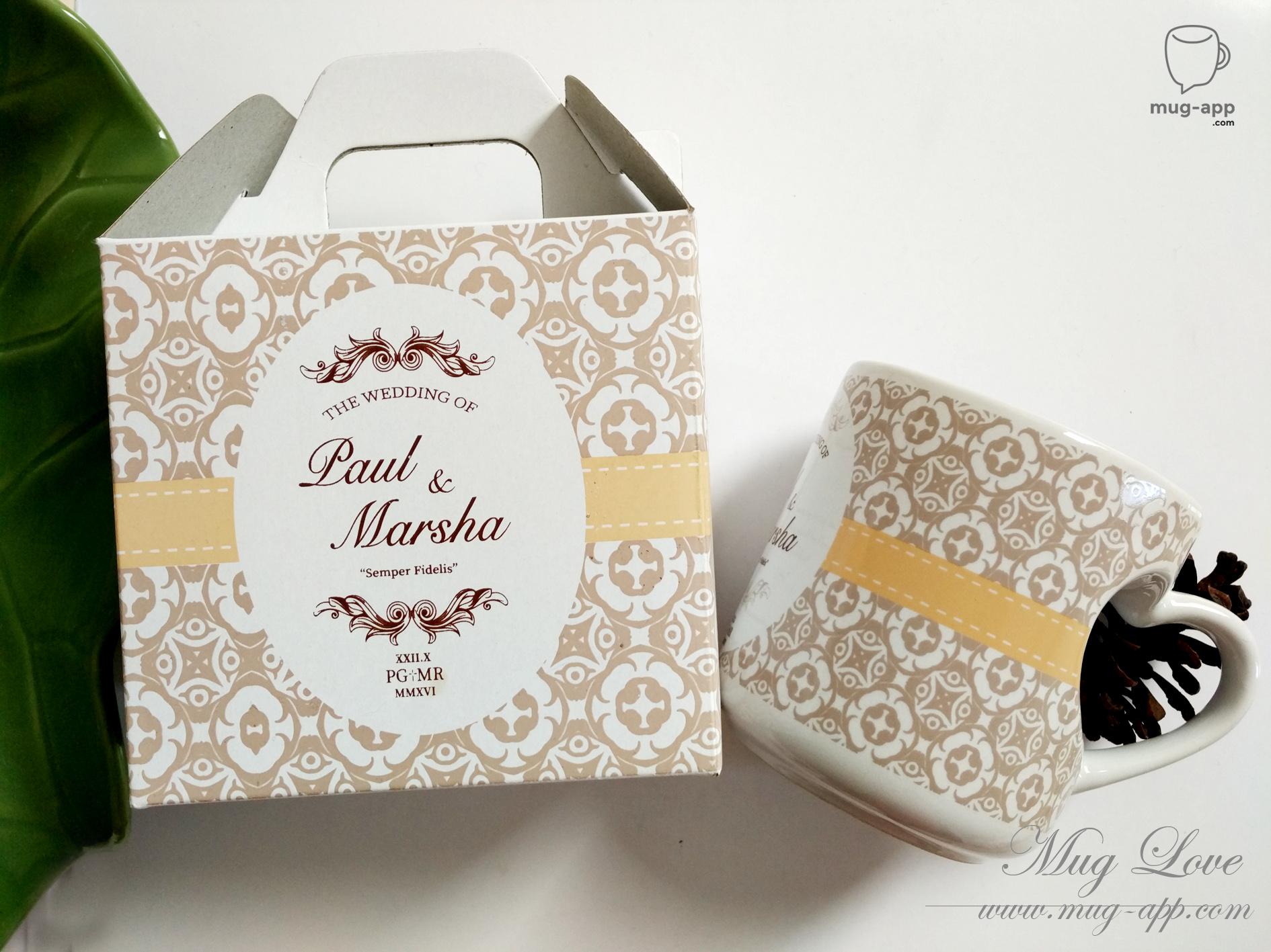Paul And Marsha Wedding by Mug-App Wedding Souvenir | Bridestory.com