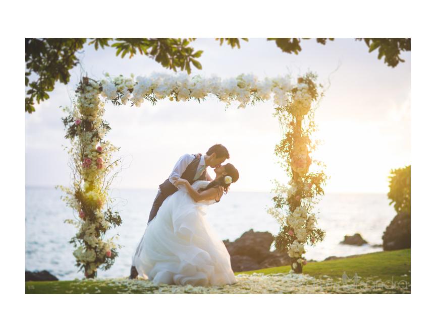 Pukalani wedding