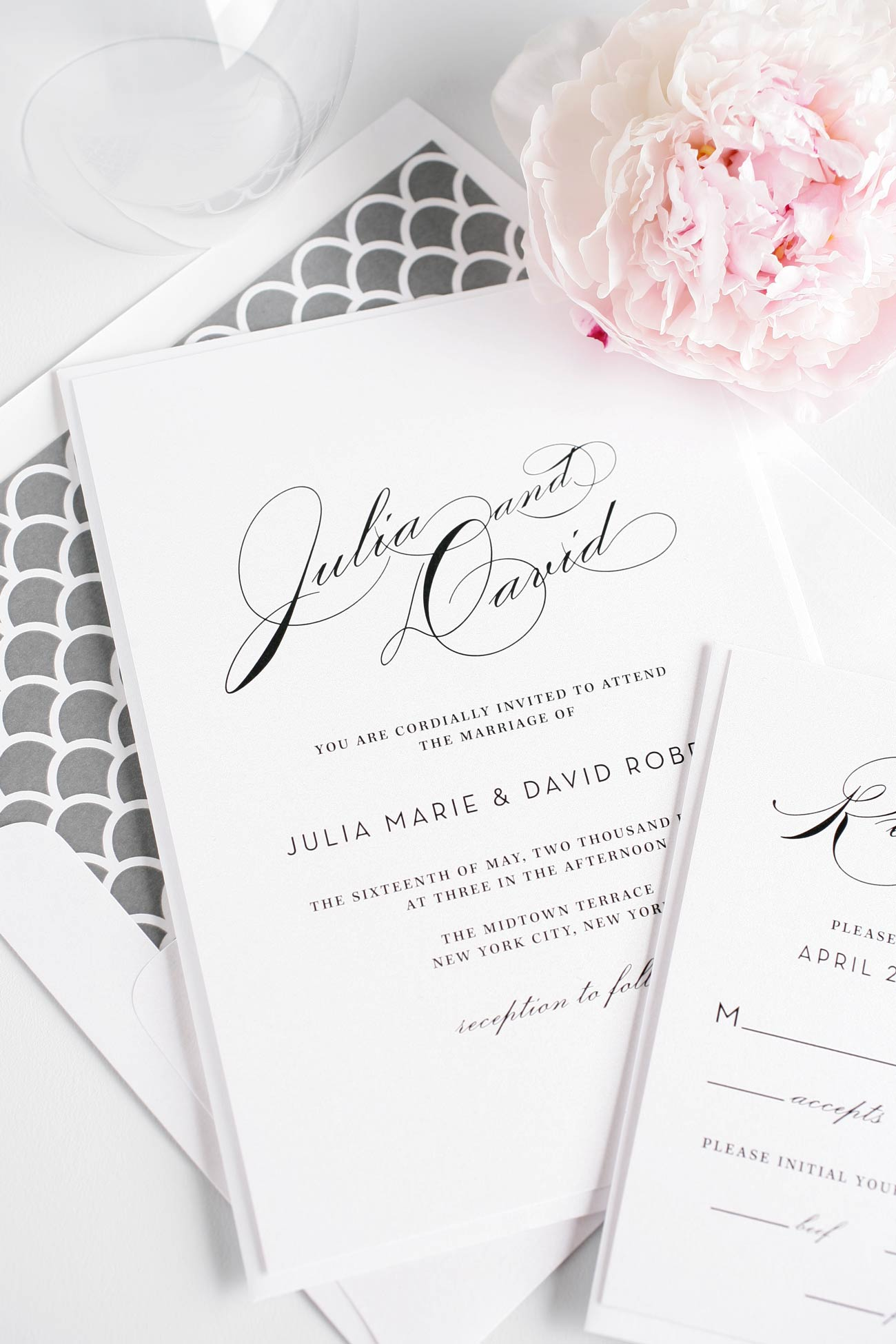 Shine Wedding Invitations | Wedding Invitations in Rochester ...