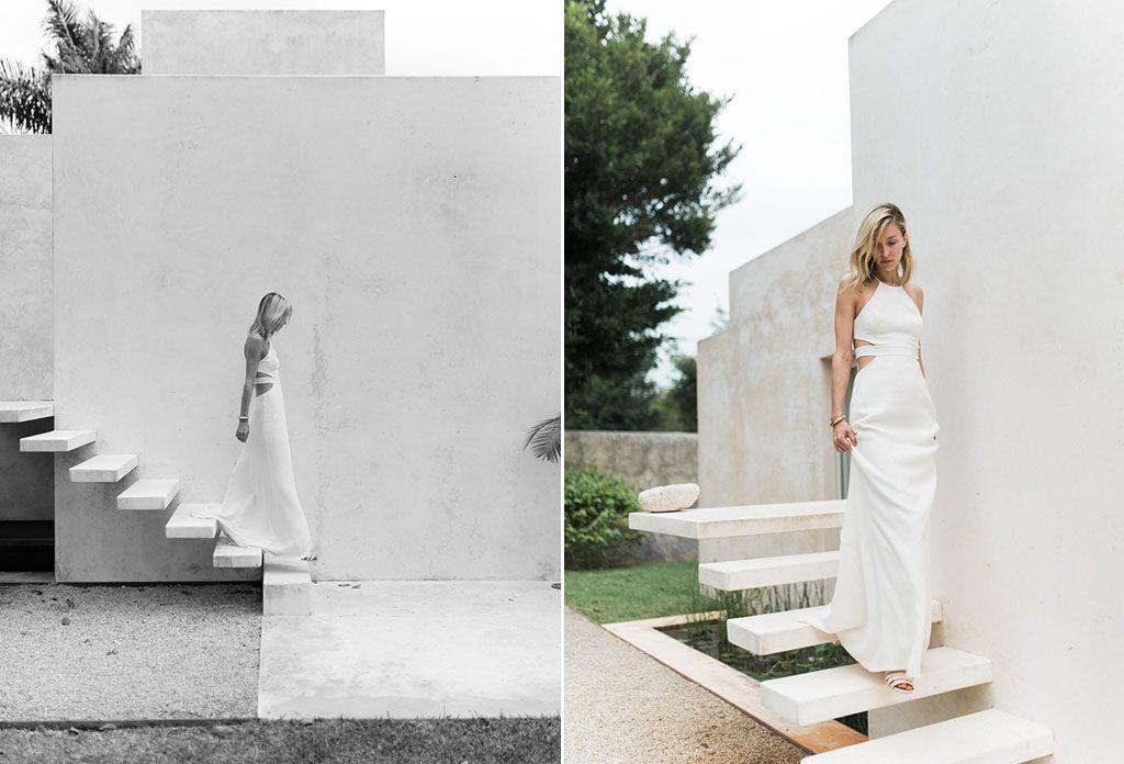 8 Simple Wedding Dress Ideas for the Minimalist Bride Image 11
