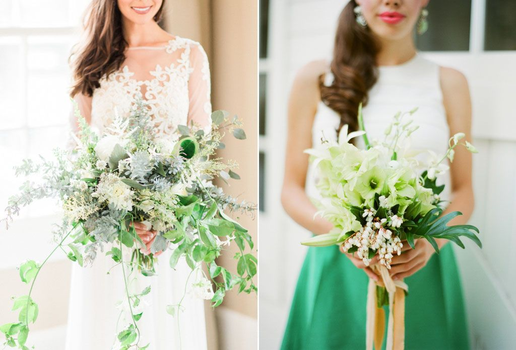 How to Use the 2017 Pantone Color, Greenery, in Your Wedding Image 5