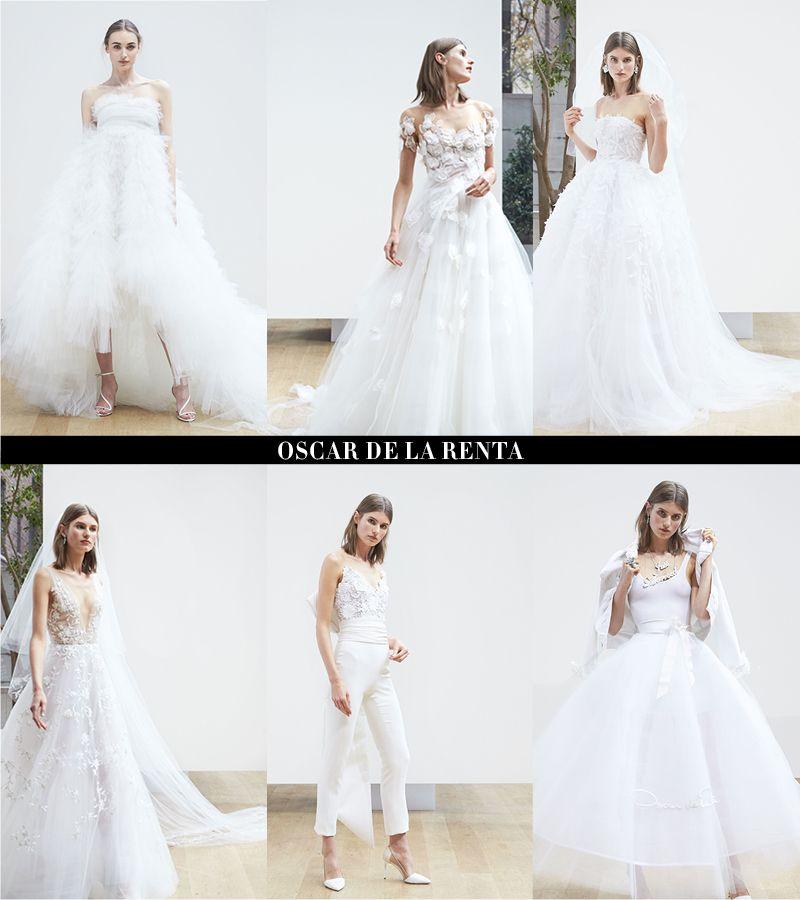 Gaun Pernikahan Cantik Dari Spring 2018 Bridal Fashion Week