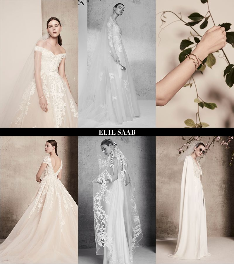 3c16c739b5 Opulence and glamour; these two words came to mind when we laid our eyes on  Elie Saab's latest bridal collection. This season, he drew inspiration from  ...