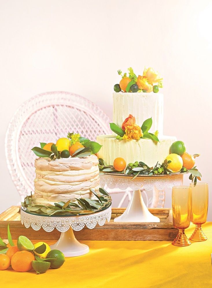 These summertime wedding cakes are too pretty to eat - Bridestory Blog