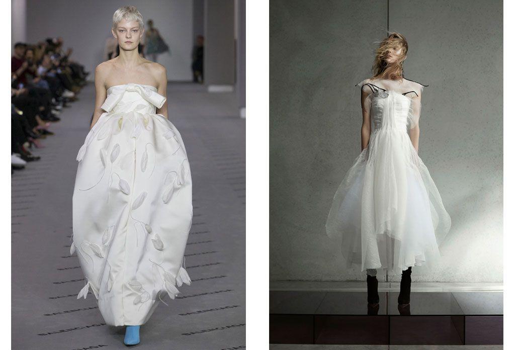 10 Bridal Fashion Trends From Paris Fashion Week Fall 2017