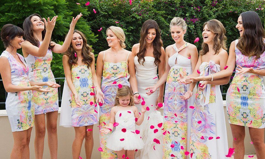 12 Unconventional Ways to Style Your Bridesmaids Image 5