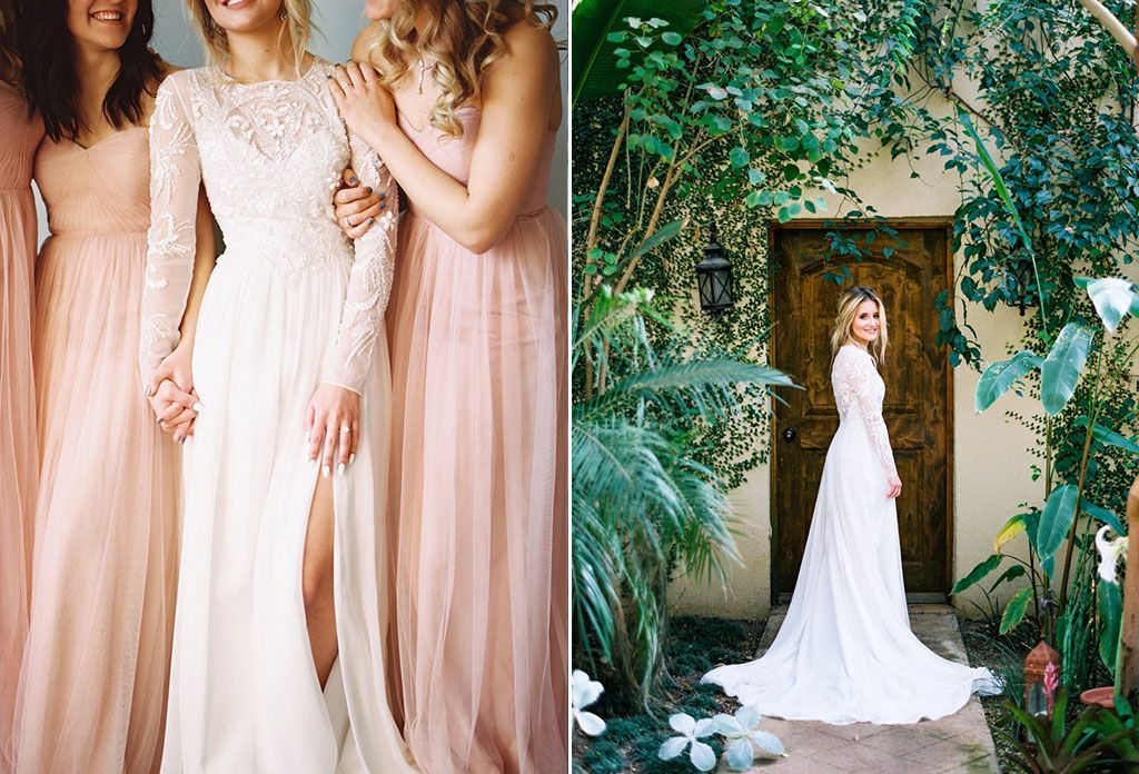 8 Simple Wedding Dress Ideas for the Minimalist Bride Image 8