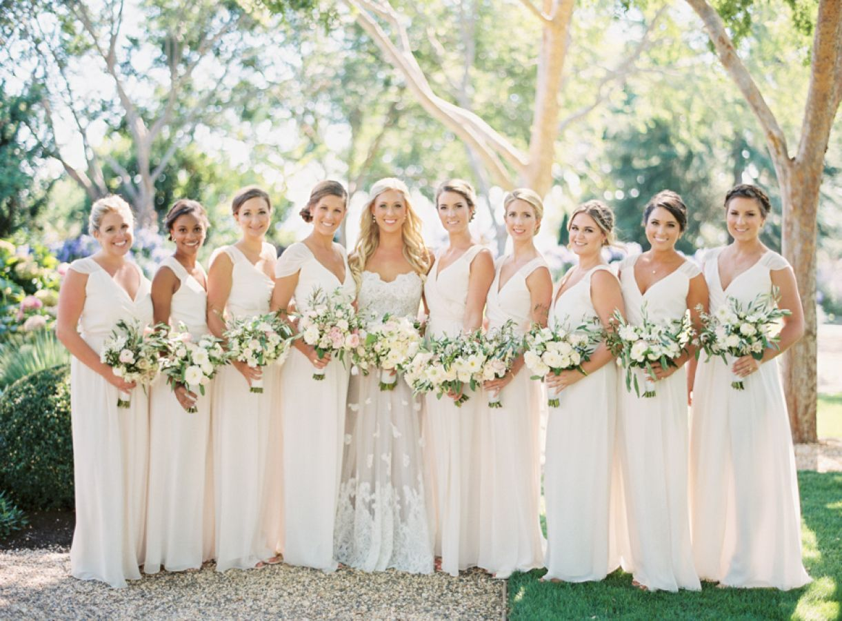 trendy style for bridesmaids