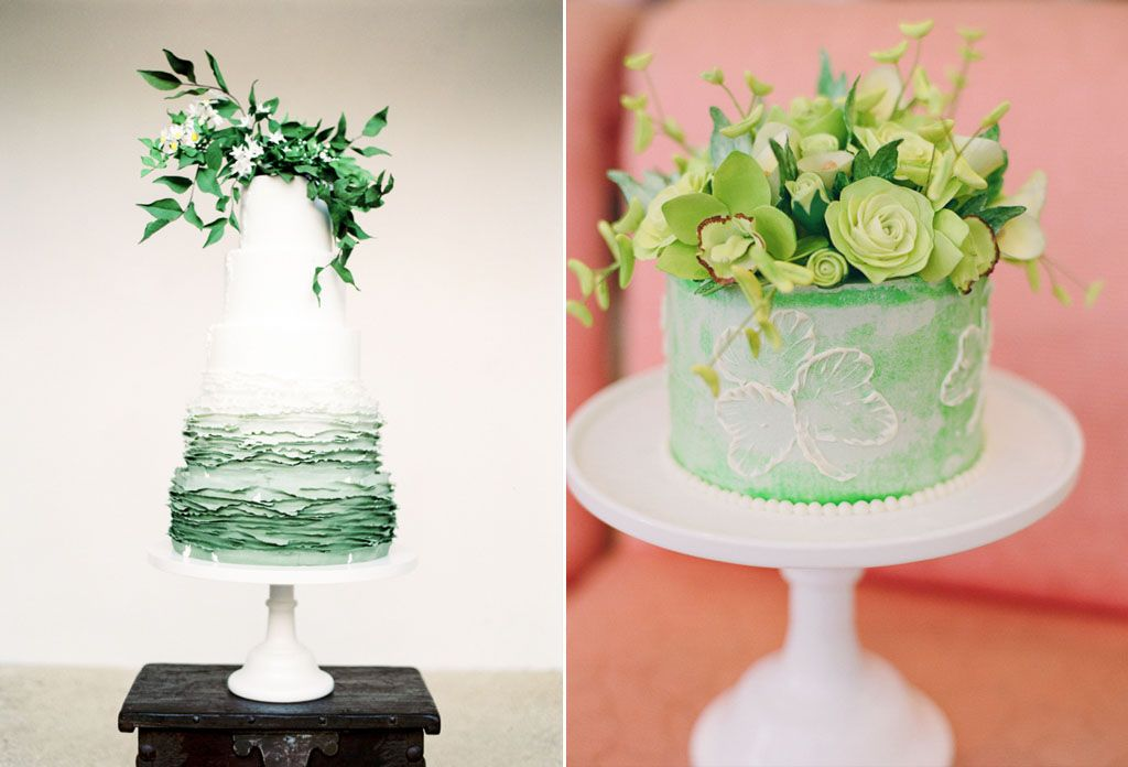 How to Use the 2017 Pantone Color, Greenery, in Your Wedding Image 8