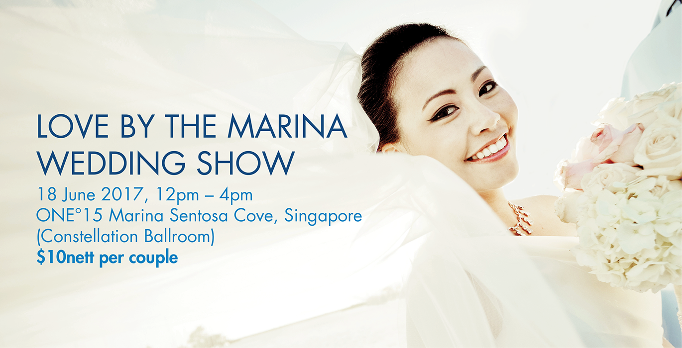3 Singapore Wedding Fairs to Look Forward to in June Image 2