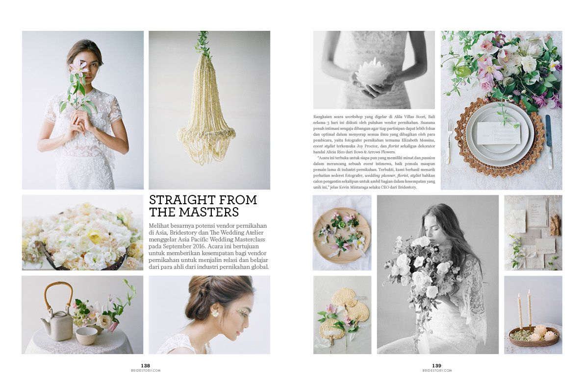 A sneak peek into bridestory magazine vol 04 bridestory blog in this edition you can also find coverage of this three day intensive training by masters of the global wedding industry solutioingenieria Image collections
