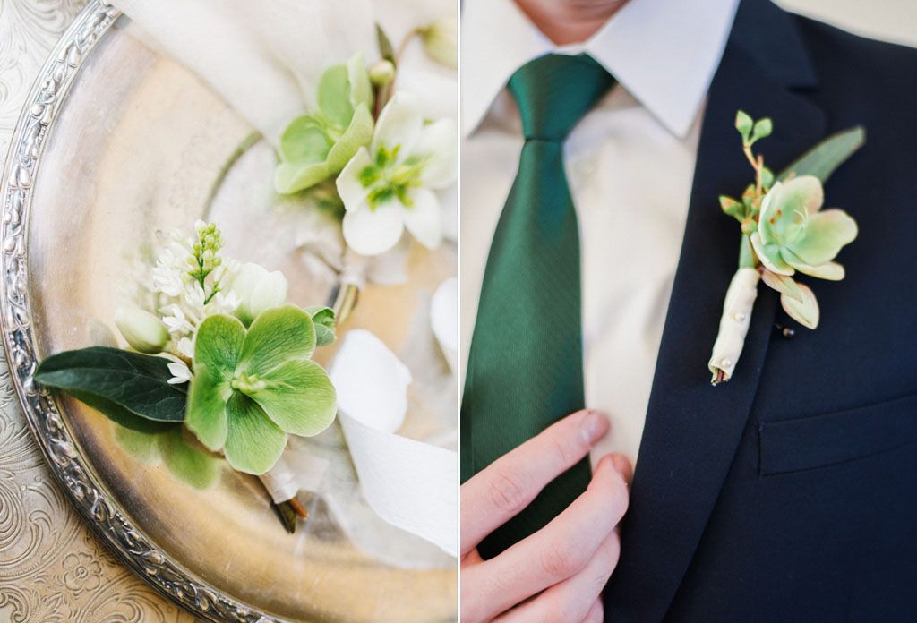 How to Use the 2017 Pantone Color, Greenery, in Your Wedding Image 4