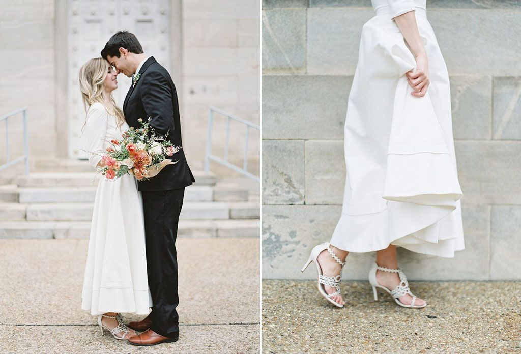 8 Simple Wedding Dress Ideas for the Minimalist Bride Image 5