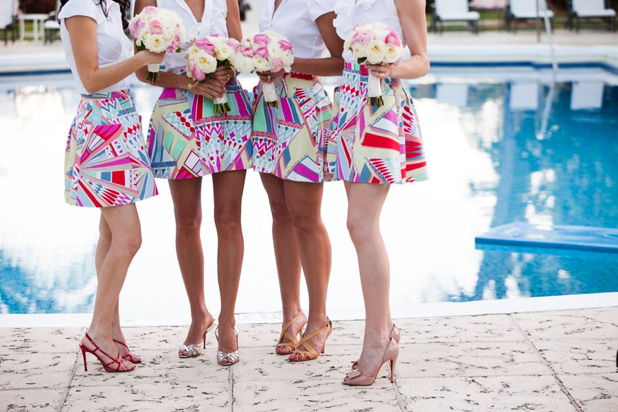 12 Unconventional Ways to Style Your Bridesmaids Image 4
