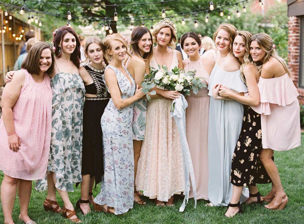 12 Unconventional Ways to Style Your Bridesmaids Image 12