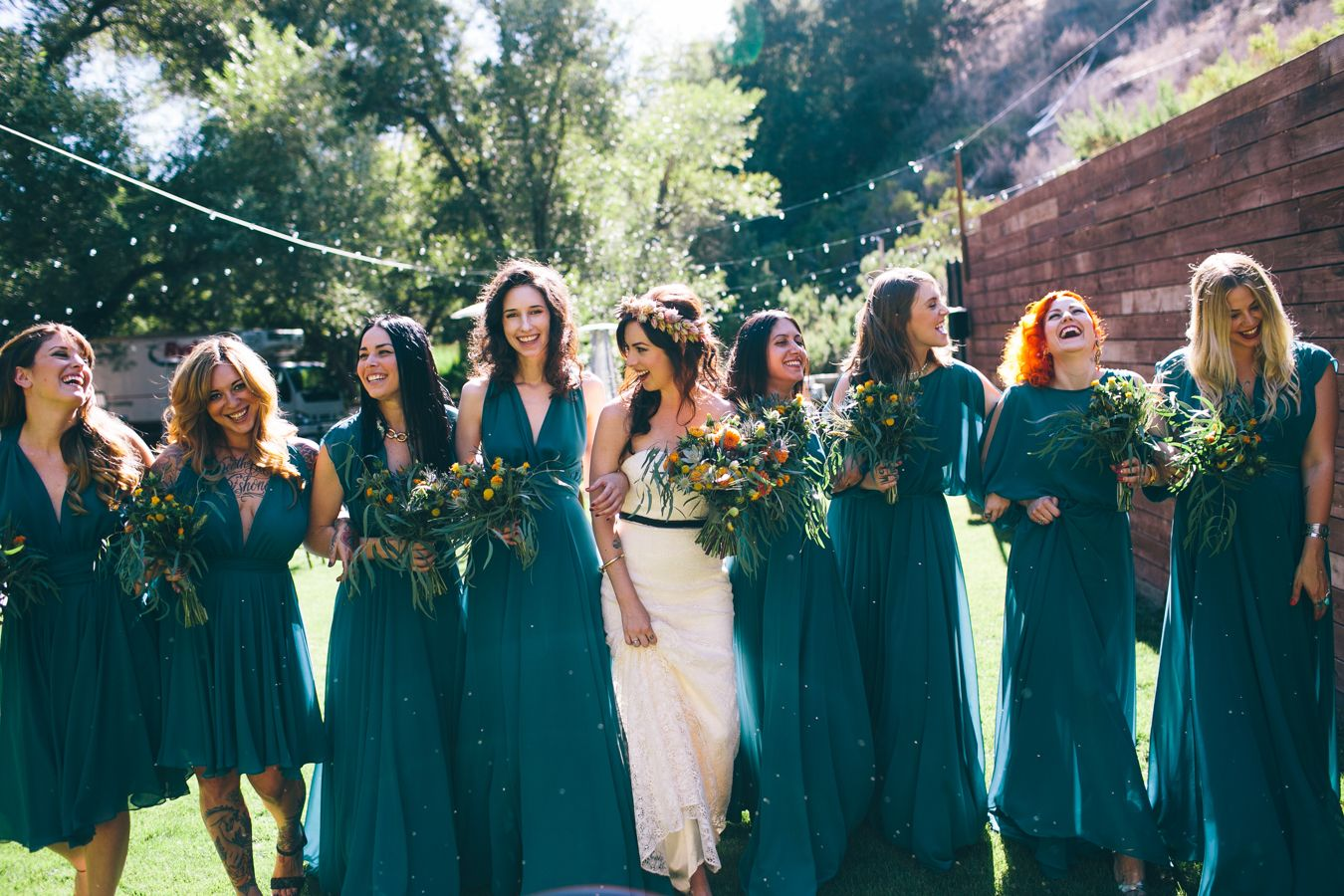 How to throw an unforgettable fall wedding bridestory blog weve collected some of the best fall colors as seen on bridesmaid dresses get ready to pick one as your favorite ombrellifo Gallery