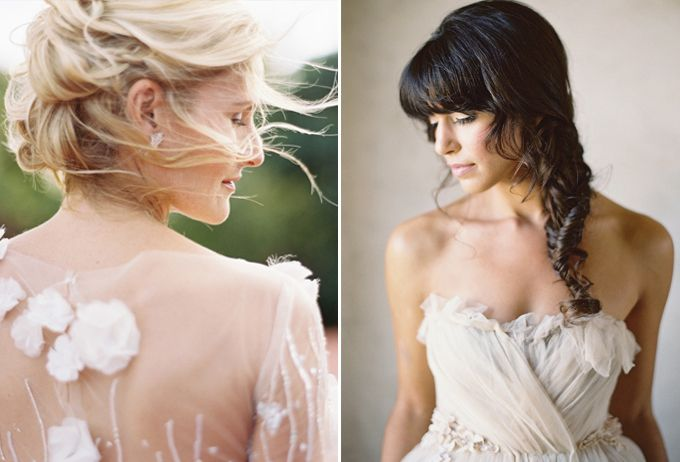 How to Choose the Right Hairstyle for Your Wedding Day Image 10