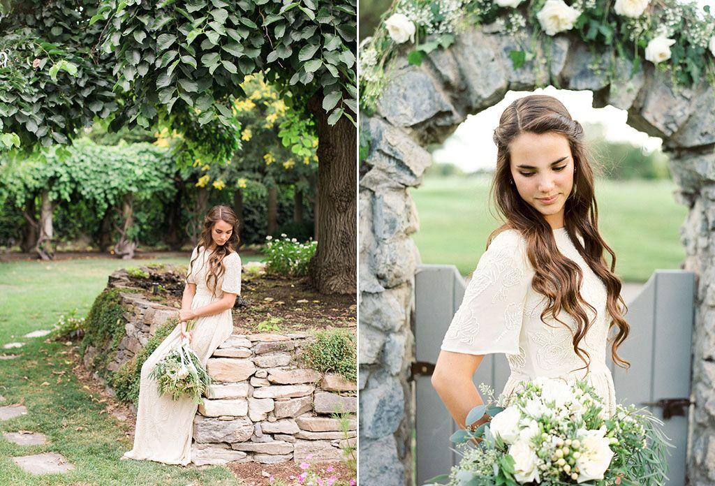 8 Simple Wedding Dress Ideas for the Minimalist Bride Image 1