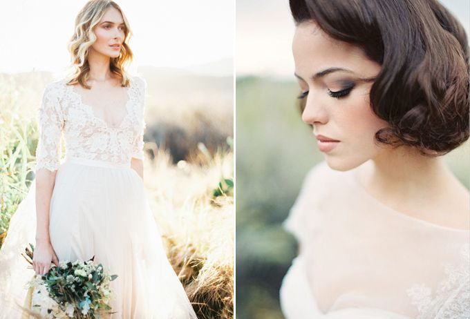 How to Choose the Right Hairstyle for Your Wedding Day Image 2