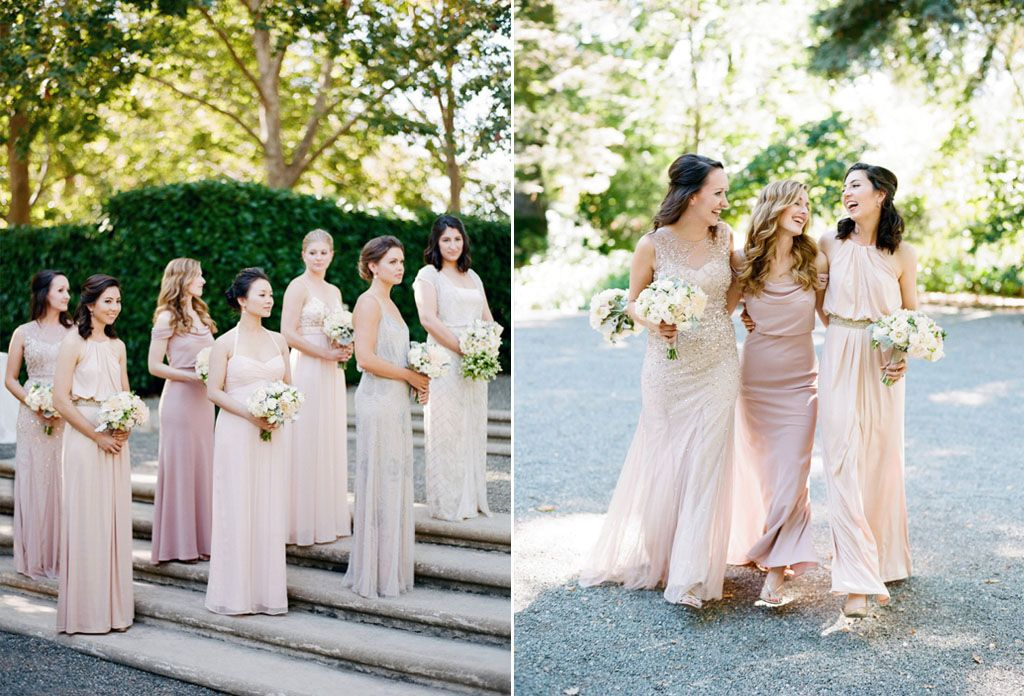 12 Unconventional Ways to Style Your Bridesmaids Image 1