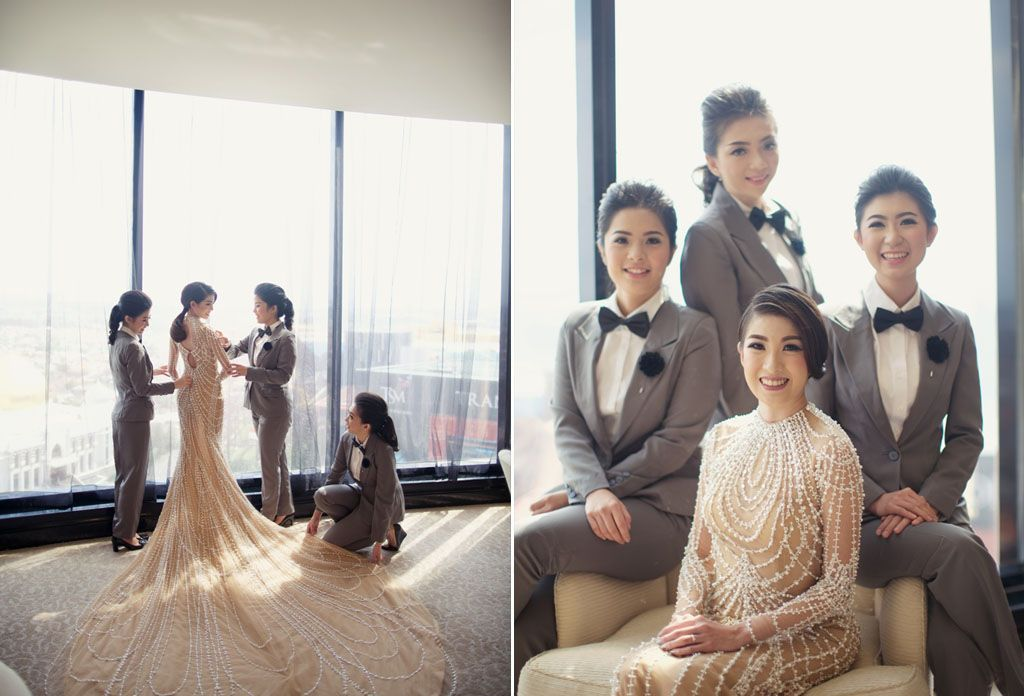 12 Unconventional Ways to Style Your Bridesmaids Image 6