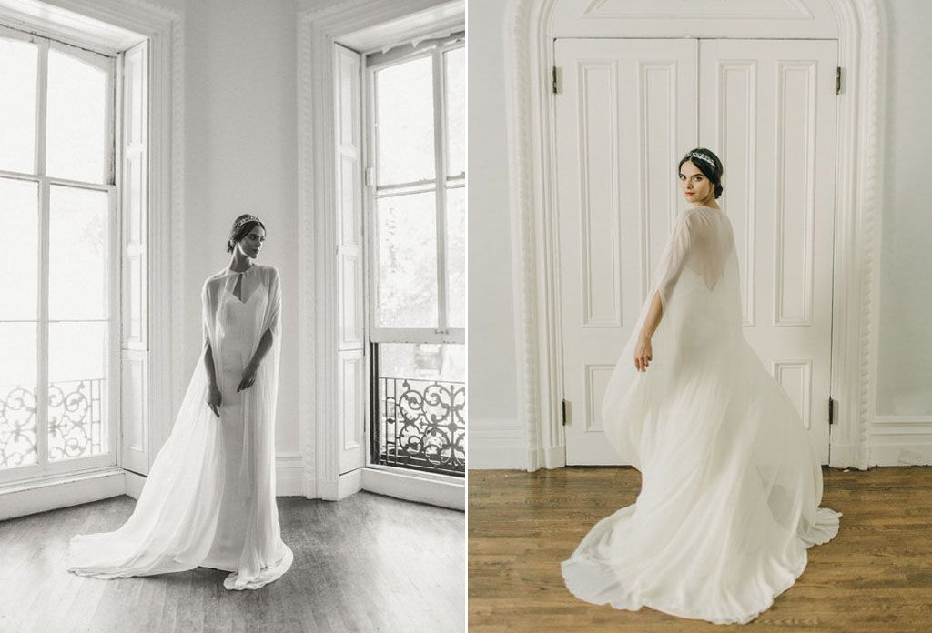 8 Simple Wedding Dress Ideas for the Minimalist Bride Image 9