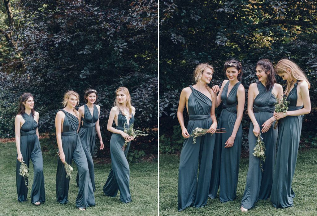 12 Unconventional Ways to Style Your Bridesmaids Image 2