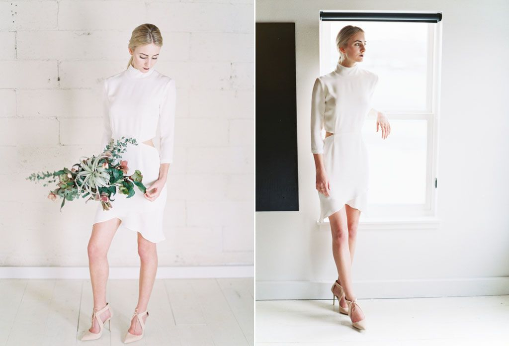 8 Simple Wedding Dress Ideas for the Minimalist Bride Image 3