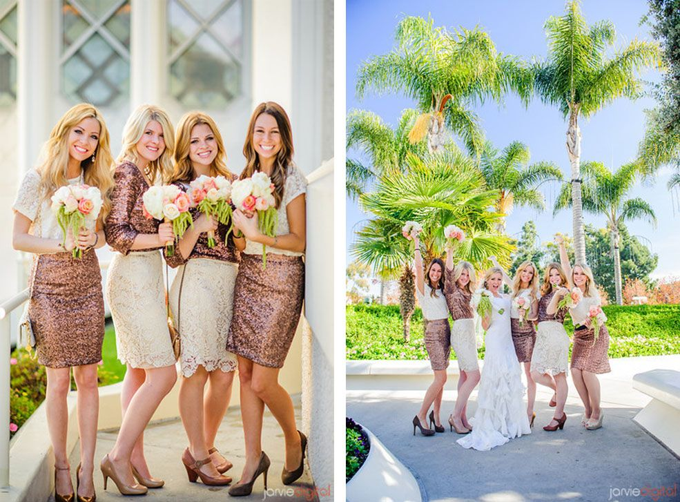 12 Unconventional Ways to Style Your Bridesmaids Image 9