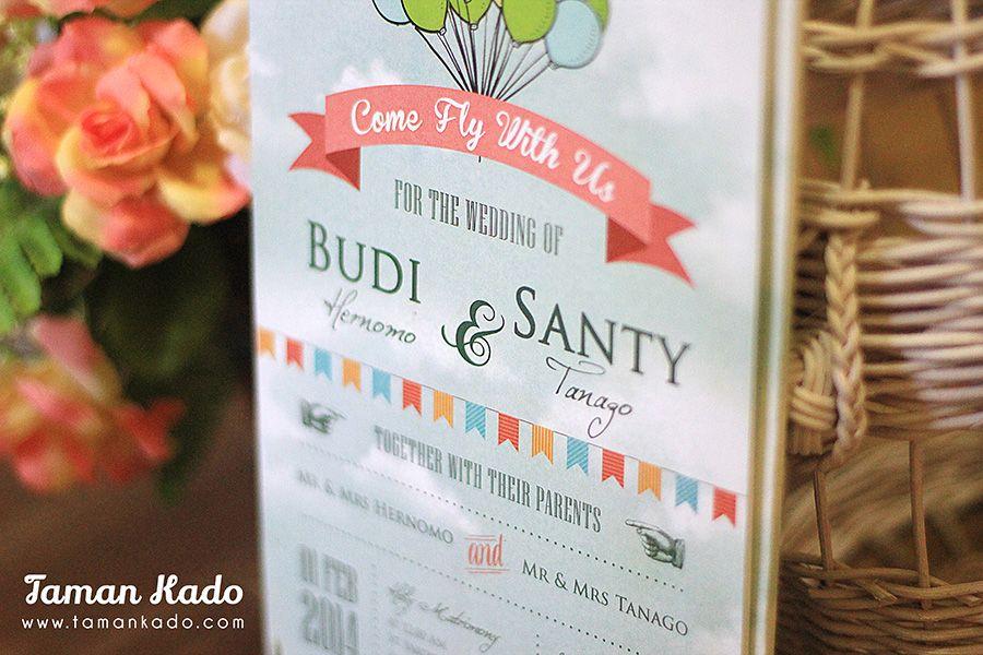 Budi & santy by taman kado bridestory.com
