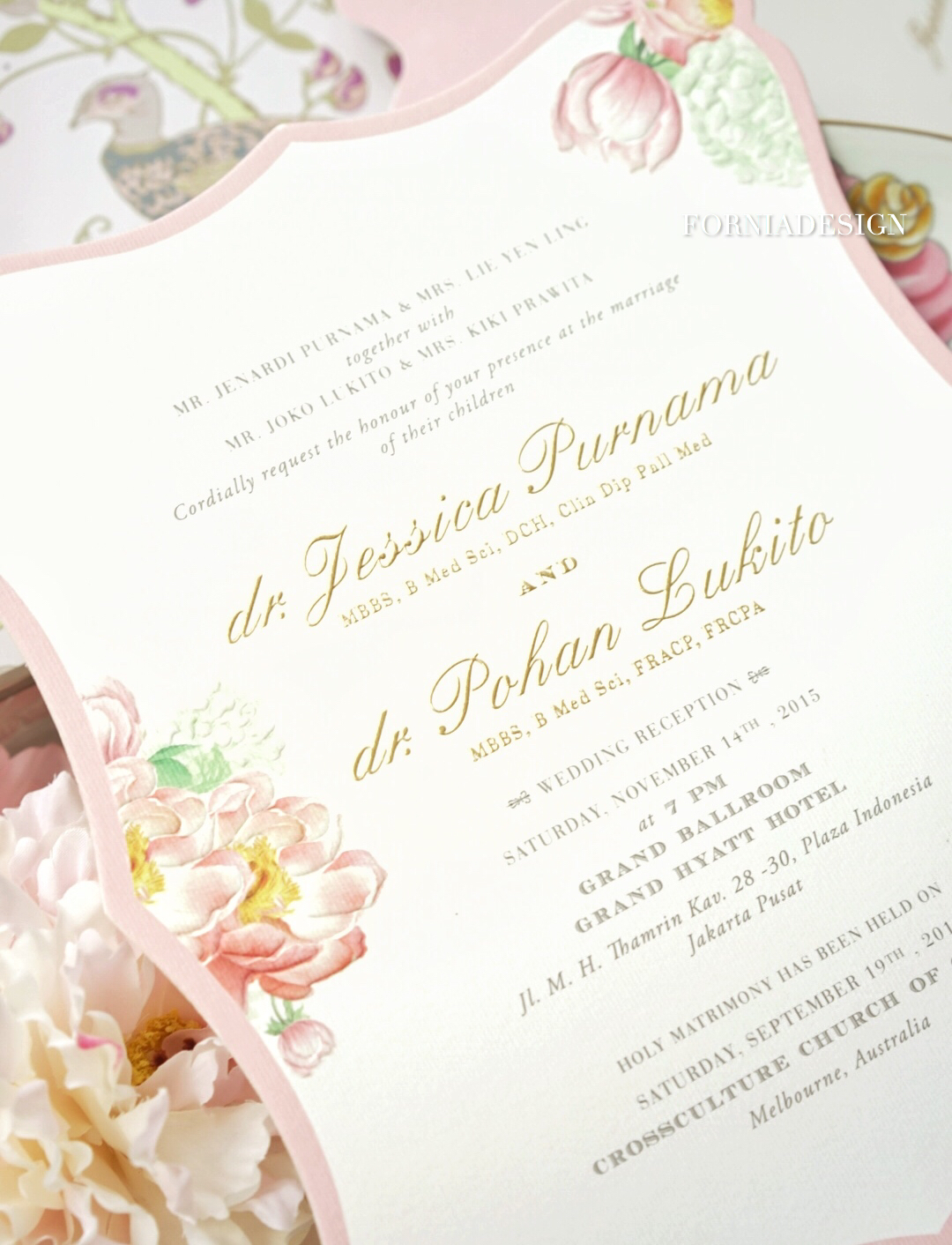 Jessica pohan by fornia design invitation bridestory stopboris Image collections