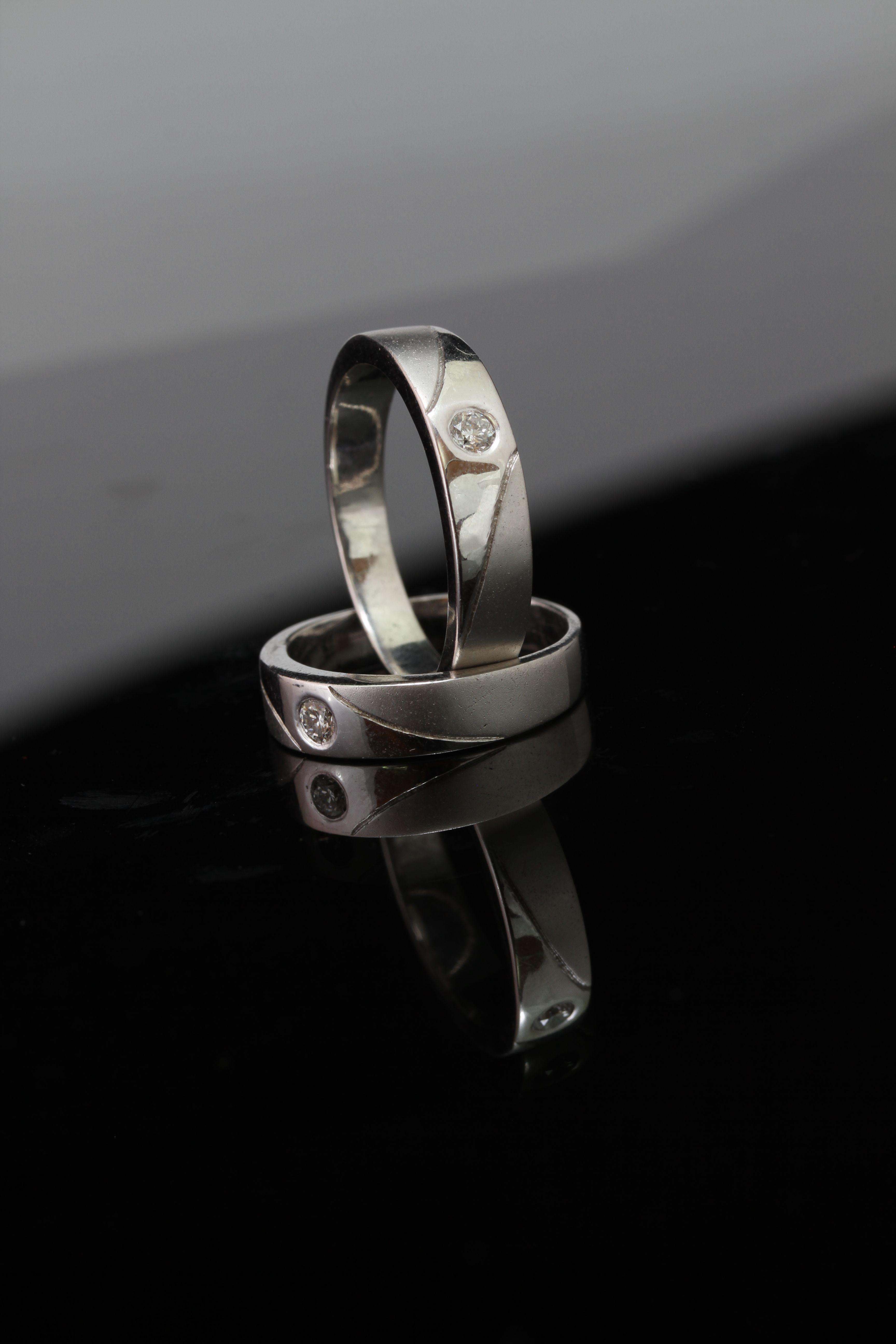 Wedding Ring By Belle Jewelry Bridestorycom Cincin Kawin Palladium 028