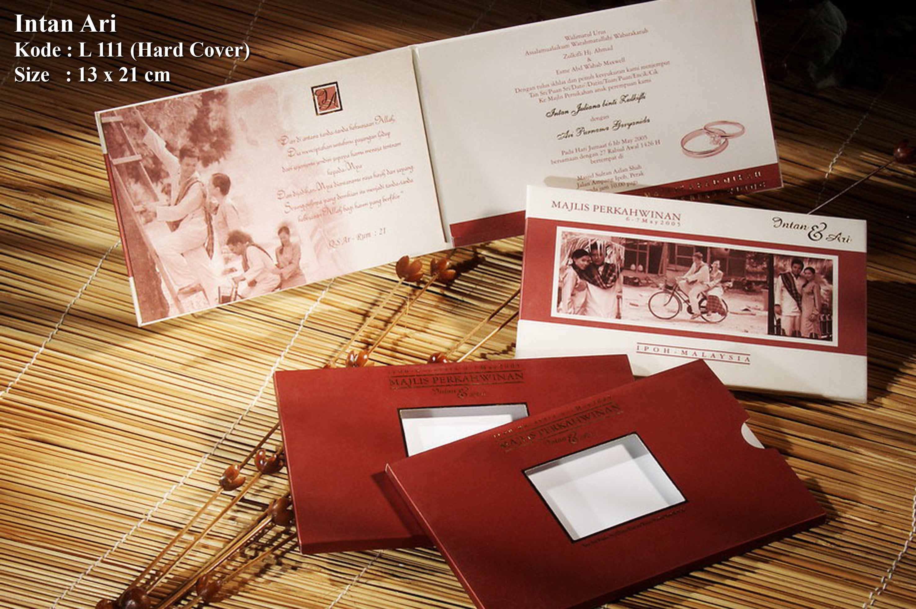 Jasmine Invitation Card | Wedding Invitations in Bandung ...
