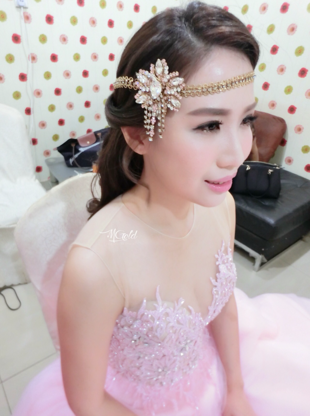 mgold hair make up studio | wedding bridal in johor | bridestory