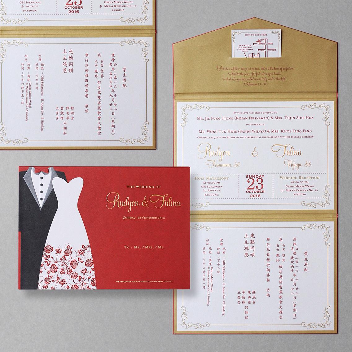 Directory of Wedding Invitations Vendors in Bandung | Bridestory.com