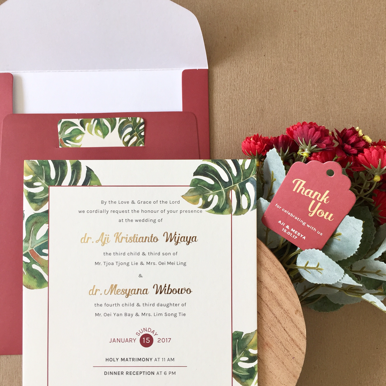 Directory of Wedding Invitations Vendors in Surabaya | Bridestory.com