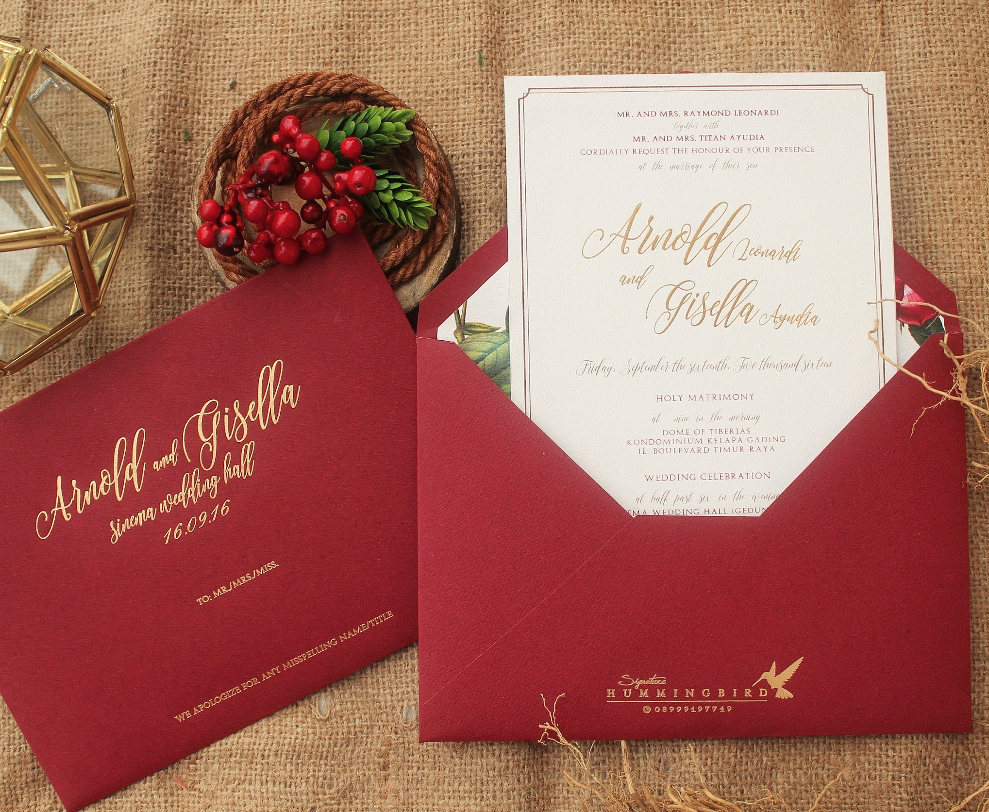 Hummingbird Studio | Wedding Invitations in Jakarta | Bridestory.com