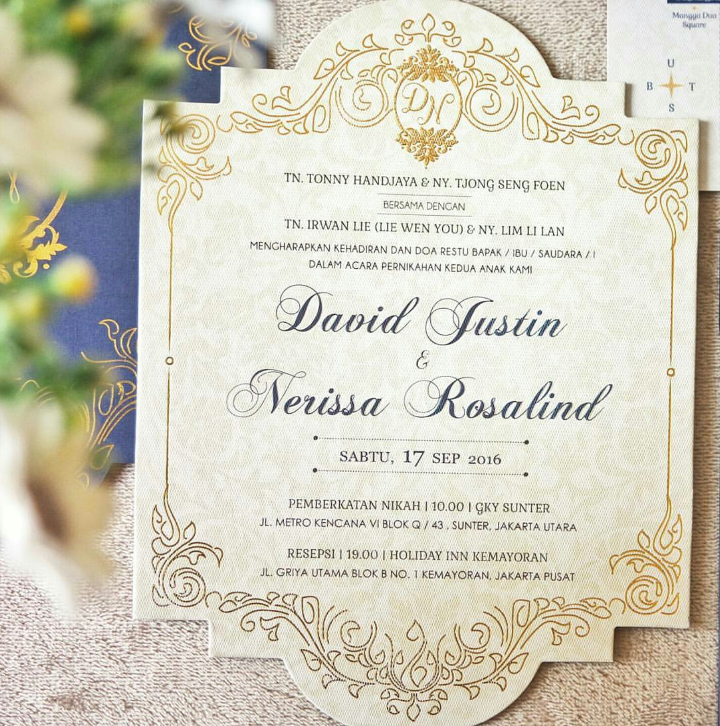 David nerissa wedding invitation by nitartwork design printing david nerissa wedding invitation by nitartwork design printing bridestory stopboris Images