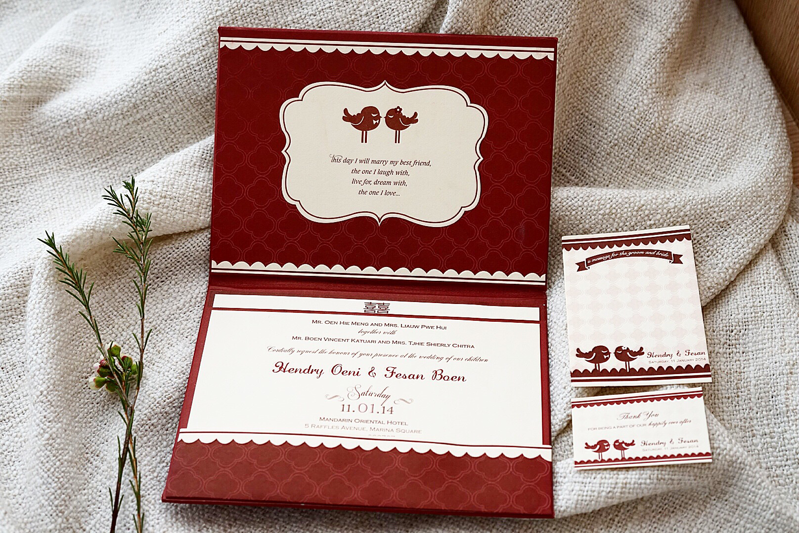 Directory of Wedding Invitations Vendors in Jakarta | Bridestory.com
