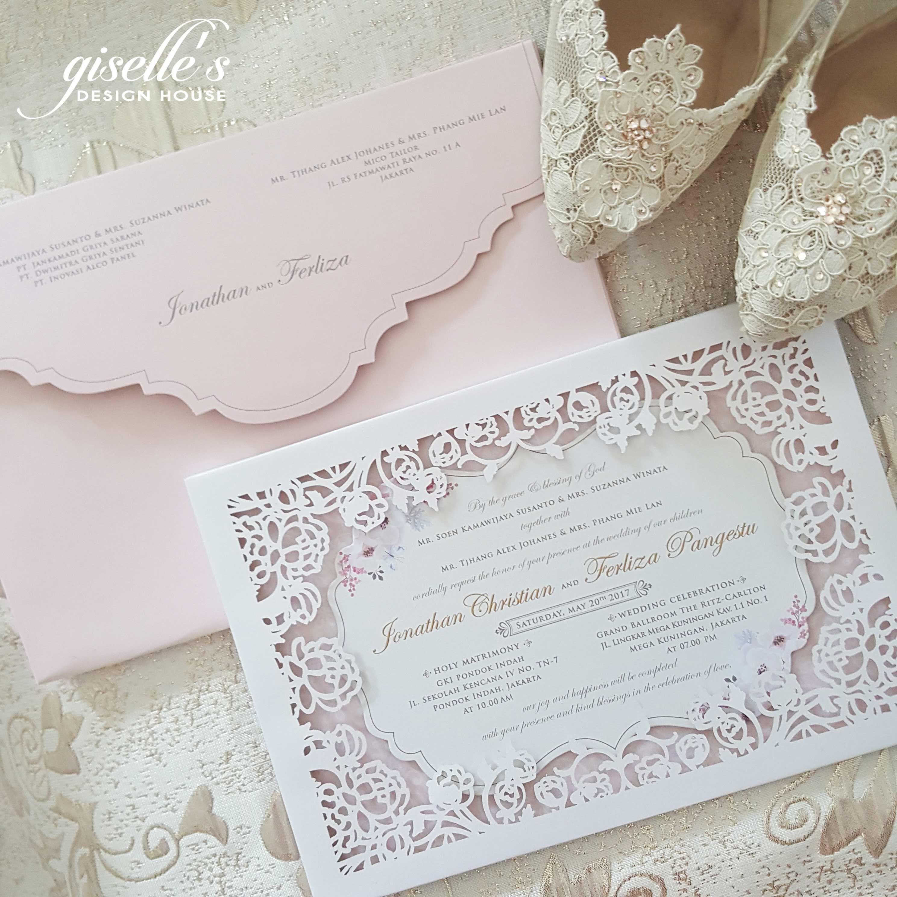 Wedding invitation 2 by giselle design house bridestory stopboris Images