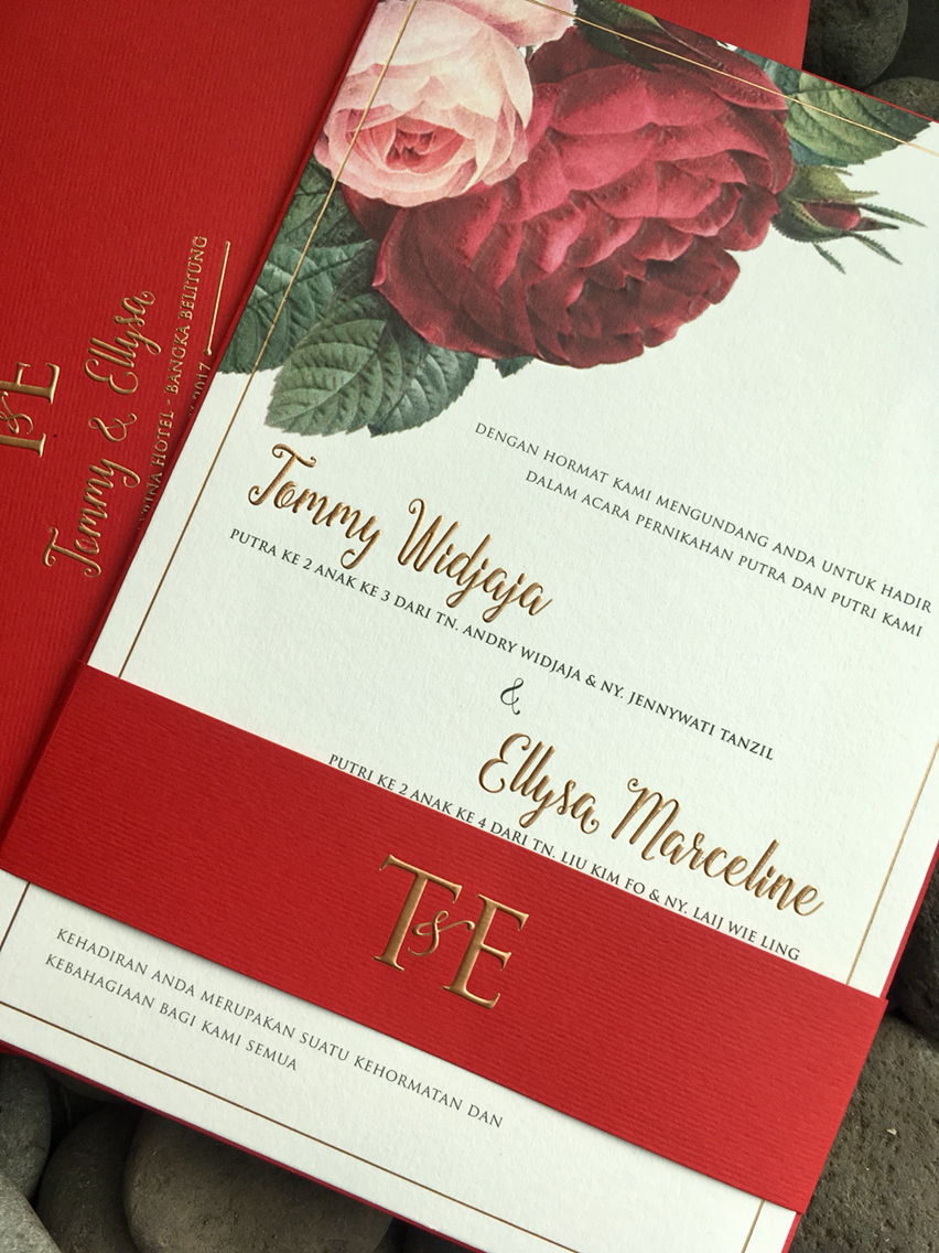 H2 Cards | Wedding Invitations in Jakarta | Bridestory.com