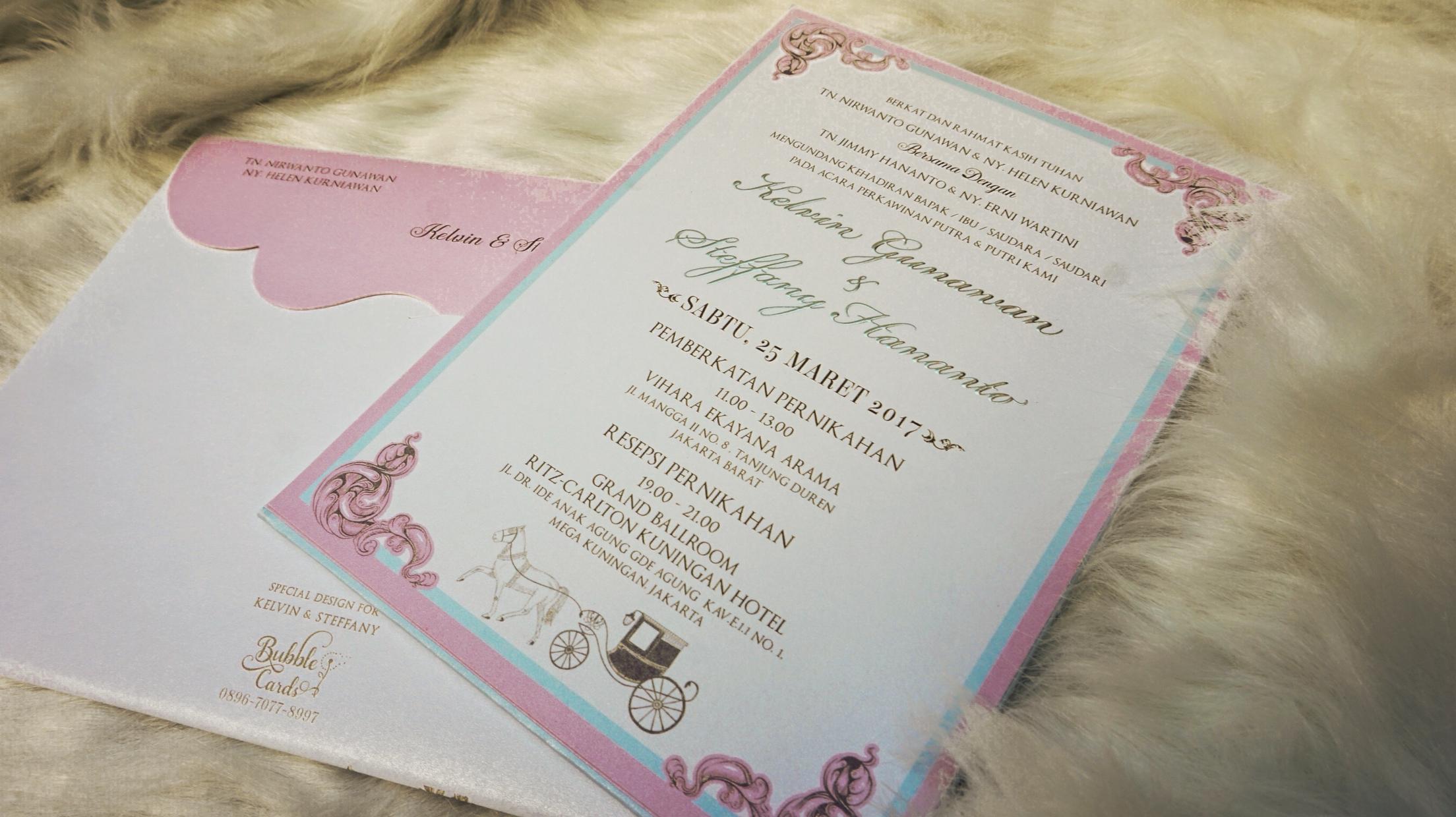 Bubble cards wedding invitations in jakarta bridestory stopboris Images