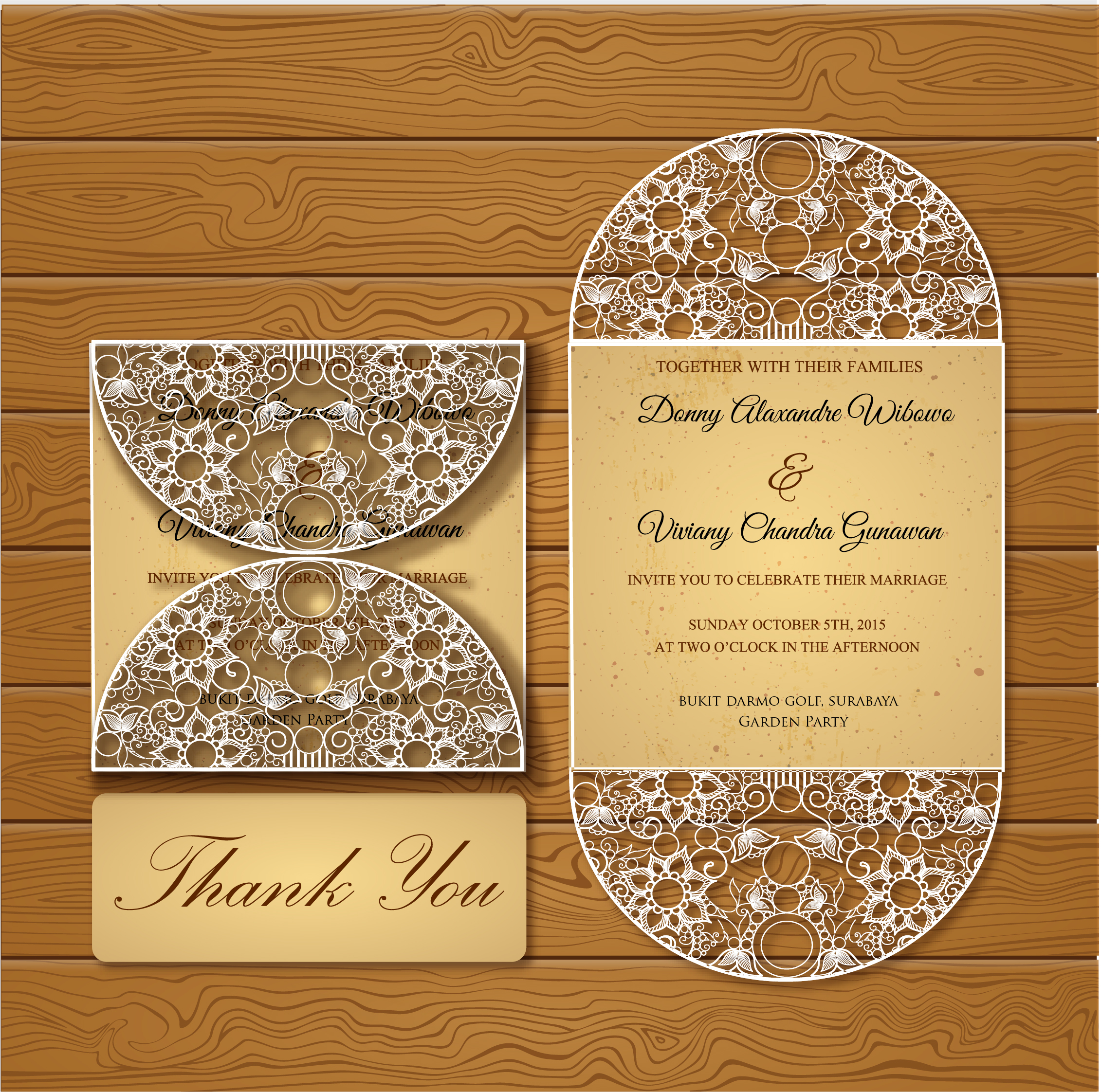 Agape card wedding invitations in surabaya bridestory stopboris Gallery