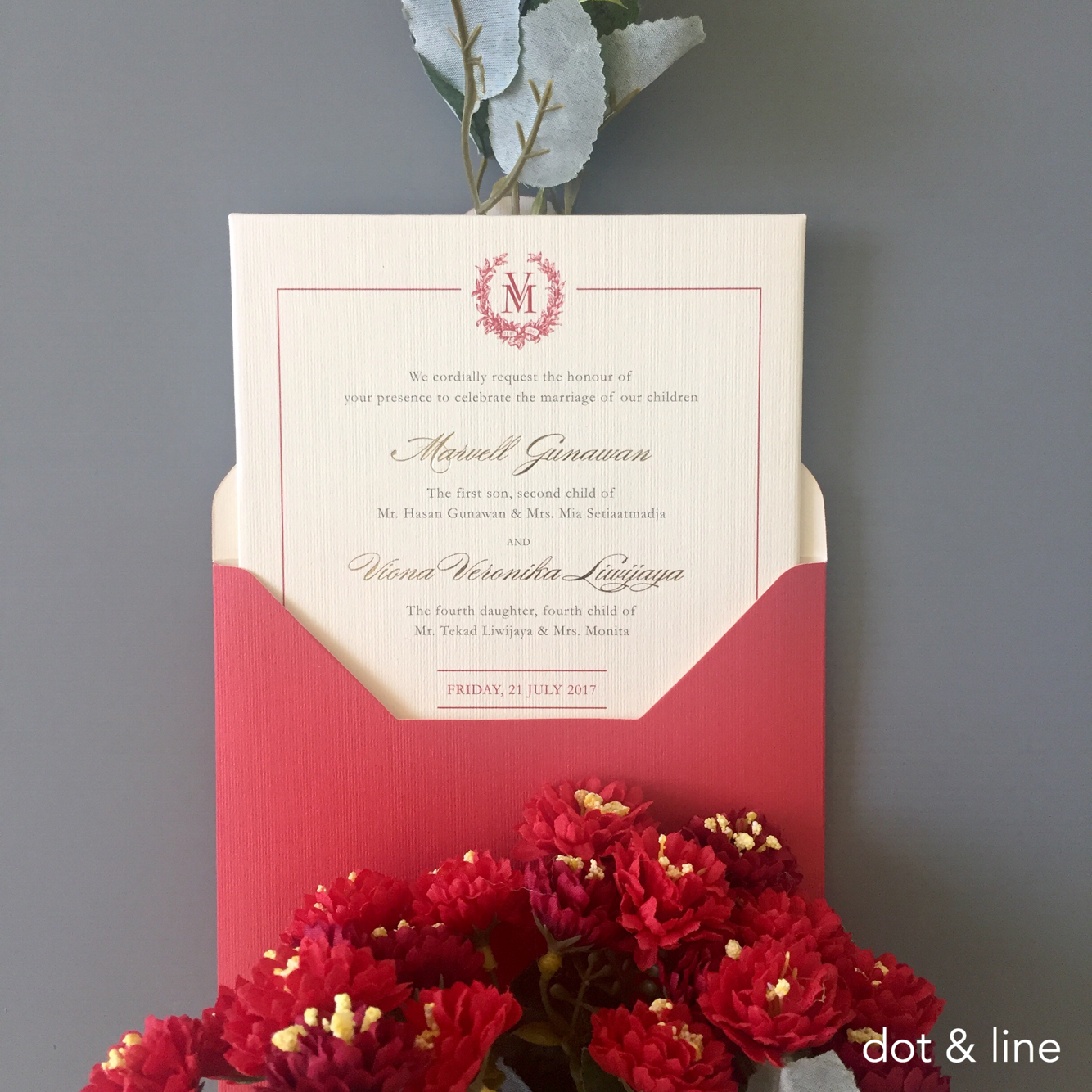 Directory of Wedding Invitations Vendors in Surabaya | Bridestory.com
