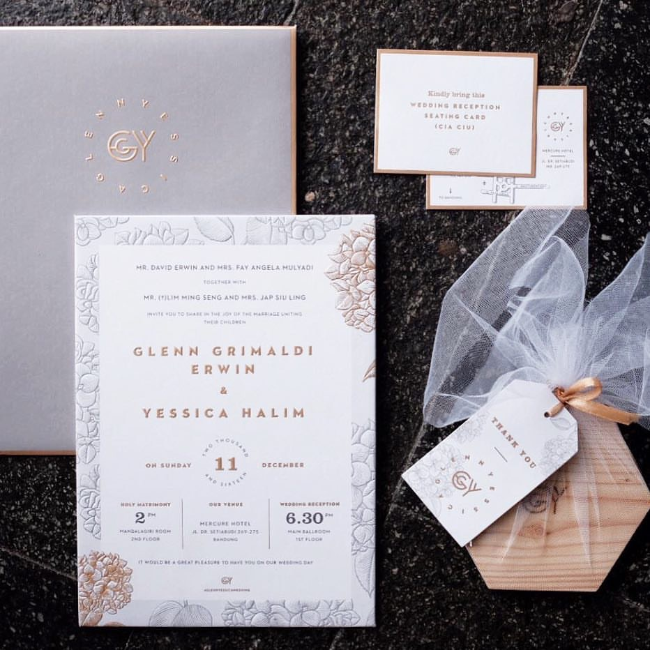 Directory of Wedding Invitations Vendors in Bali | Bridestory.com