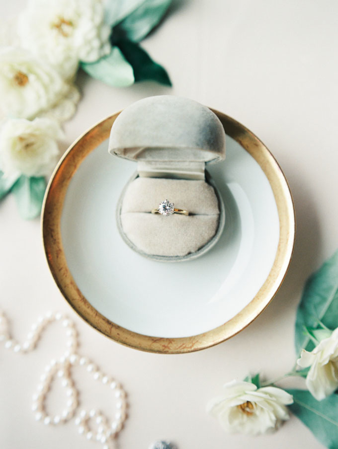 the big trend of small engagement rings - Small Wedding Rings
