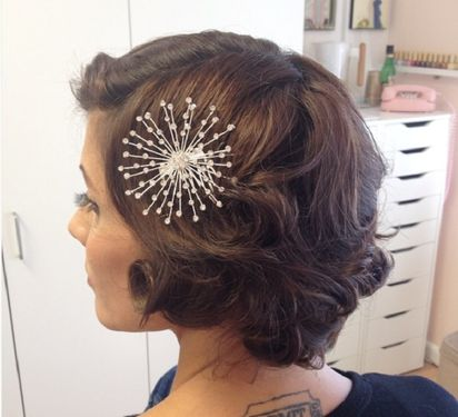 8 Wedding Hairstyles For Short Hair Bridestory Blog