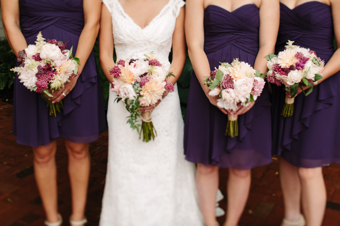 Pacific-Northwest Wedding With Shades Of Burgundy And Purple - 010