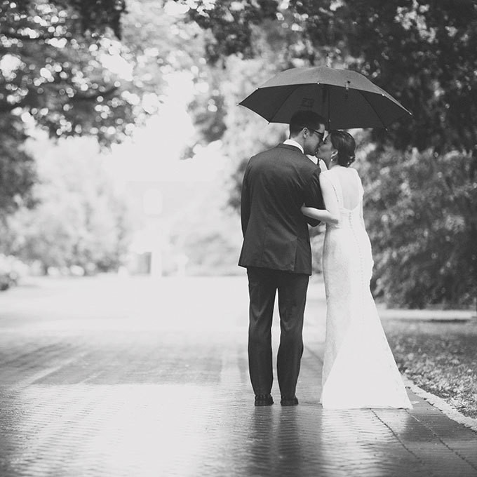 Top Tips To Rock Rainy Day Wedding Pictures