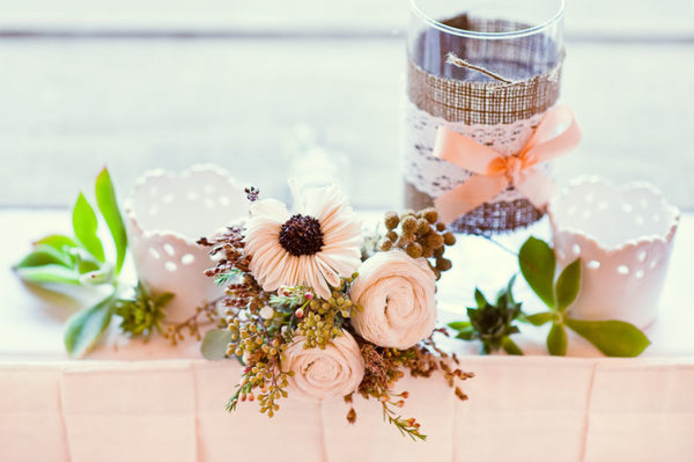 How to Throw a Beautiful Wedding With No Flowers Image 1